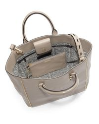 Rebecca Minkoff | Natural Nylon Mini Mab Tote - Taupe | Lyst