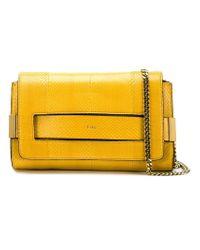 Chloé - Yellow 'elle' Shoulder Bag - Lyst