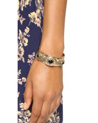 Samantha Wills - Metallic The Villa Cuff Bracelet - Antique Gold Multi - Lyst