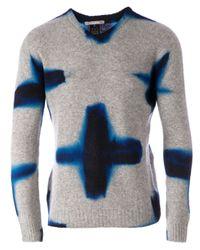 Suzusan - Blue Printed Jumper for Men - Lyst