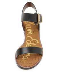 Sam Edelman - Black Trina City Sandals - Lyst
