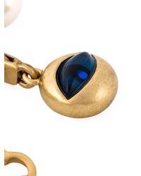 Tory Burch - Blue Charm Bracelet - Lyst