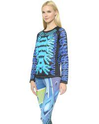 Adidas Originals - Multicolor Crew Neck Winter Top - Multi - Lyst