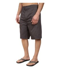 Rip Curl Gray Constant Walkshorts for men