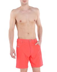 DIESEL - Red Bmbx-kroobeach for Men - Lyst