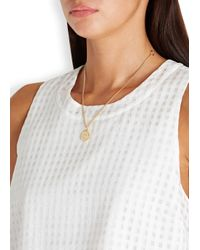 Marc By Marc Jacobs | Metallic Gold Tone Smiley Necklace | Lyst