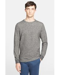 Norse Projects - Gray 'vagn' Cotton Blend Crewneck Sweatshirt for Men - Lyst