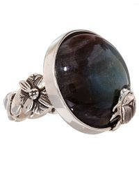 Stephen Dweck - Metallic Silver Labradorite Cabochon Ring - Lyst