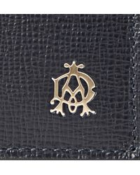 Dunhill | Blue Belgrave Textured-Leather Billfold Wallet for Men | Lyst