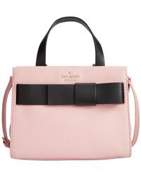 Kate Spade | Black Poplar Street Small Shelley Minibag Convertible Crossbody | Lyst