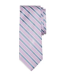 Brooks Brothers - Purple Oxford Stripe Tie for Men - Lyst