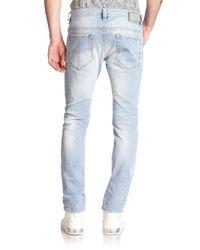 DIESEL - Blue Thavar Denim Jeans for Men - Lyst