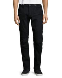 Hudson Jeans - Black Blinder Biker Salton Denim Jeans for Men - Lyst