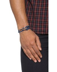 Miansai | Pink Hooked Leather Wrap Bracelet for Men | Lyst