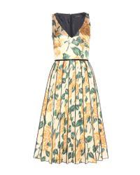 Marc Jacobs - Multicolor Floral-Print Silk Dress - Lyst