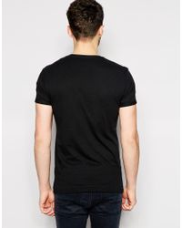 Esprit - Black T-Shirt With The City Print for Men - Lyst