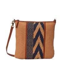 Lucky Brand | Natural Kendal Flap Crossbody | Lyst