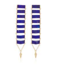 Karma El Khalil | Metallic Gold Ladder Earrings | Lyst