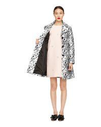 Kate Spade | Metallic Vanna Coat | Lyst