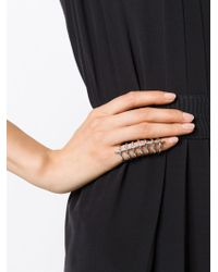 Stephen Webster | Metallic Long 'articulating' Knuckle Ring | Lyst