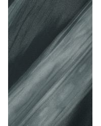 Marni | Blue Printed Satin Top | Lyst