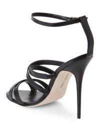 0c8609dc5c5d4a Lyst - Manolo Blahnik Black Eremito Strappy Sandals in Black
