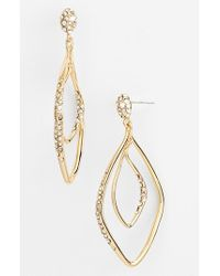 Alexis Bittar | Metallic 'miss Havisham' Orbiting Drop Earrings | Lyst