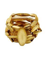 Monies | Metallic Bracelet | Lyst