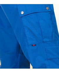Gucci - Blue Techno Cotton Cargo Pant for Men - Lyst