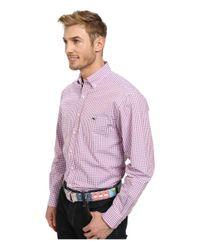 Vineyard Vines - Pink Tucker Shirt-wickham Check for Men - Lyst