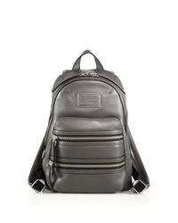 Marc By Marc Jacobs | Gray Domo Leather Biker Backpack | Lyst