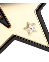 Stella McCartney - Red Clip-on Plexiglass Earrings - Lyst