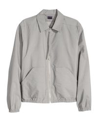 H&M | Gray Shirt Jacket for Men | Lyst
