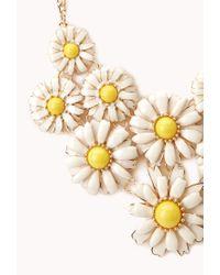 Forever 21 - Multicolor Daisy Darling Bib Necklace - Lyst