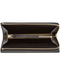 Chloé | Black Textured Leather Patchwork Wallet | Lyst