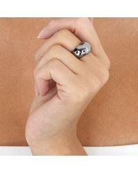 Astley Clarke - Black Ruthenium Bombe Ring - Lyst