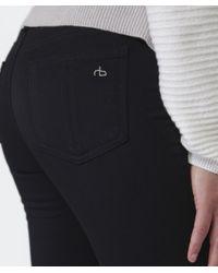 Rag & Bone - Black Plush Leggings - Lyst