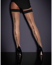 Agent Provocateur | Lynx Hold Up Champagne/black | Lyst