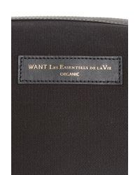 Want Les Essentiels De La Vie - Black Kenyatta Wash Bag for Men - Lyst