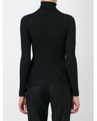 Stella McCartney - Black Turtle Neck Sweater - Lyst