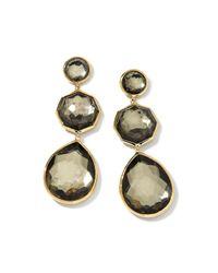 Ippolita - Metallic 18k Crazy 8's Pyrite Doublet Earrings - Lyst