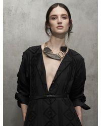 Maiyet | Black Organic Geometric Necklace | Lyst