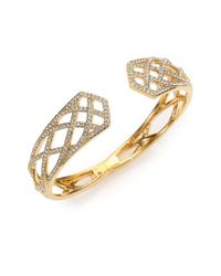 Adriana Orsini - Metallic Elevate Pave Crystal Bangle Bracelet - Lyst