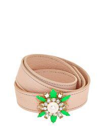 Shourouk | Green Beedis Bracelet | Lyst