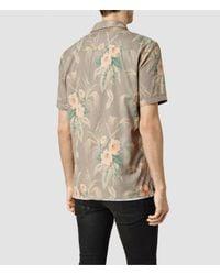 AllSaints - Multicolor Mawsim Ss Shirt for Men - Lyst