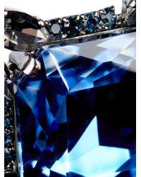 'S Max Mara - Blue Messico Crystal Brooch - Lyst