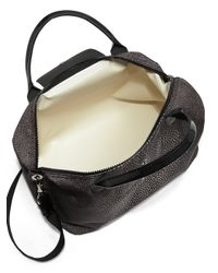Longchamp - Black Le Pliage Neo Medium Stingrayprint Satchel - Lyst