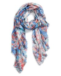 Lily and Lionel - Multicolor 'Talaia' Modal & Silk Scarf - Lyst