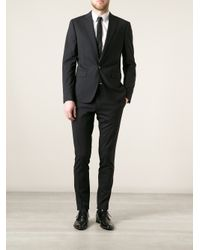 DSquared² | Black Fitted Suit for Men | Lyst