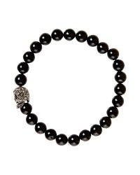 Simon Carter | Black Crystal Skull Bead Bracelet for Men | Lyst